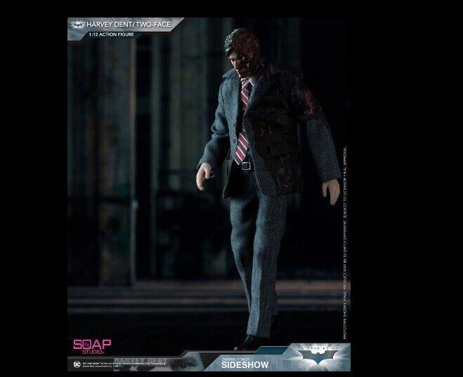 DC Comics 1 12 Batman Dos Cocheas (Harvey Dent) figura Jabón Studio
