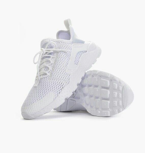 Nike Run Da Donna Air Huarache Run Nike Ultra BR Scarpe Bianche 833292 100 diverse dimensioni b9e943