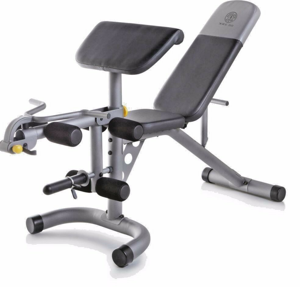 Workout Bench Home Gym  Equipment Exercise Leg Extension Adjustable Weight Ab Arm  discount store
