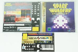 Space-invaders-SS-Taito-Sega-Saturn-Spine-From-Japan