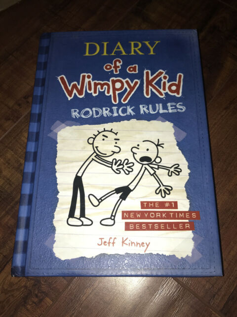 Rodrick Rules By Jeff Kinney 2008 Hardcover For Sale Online Ebay