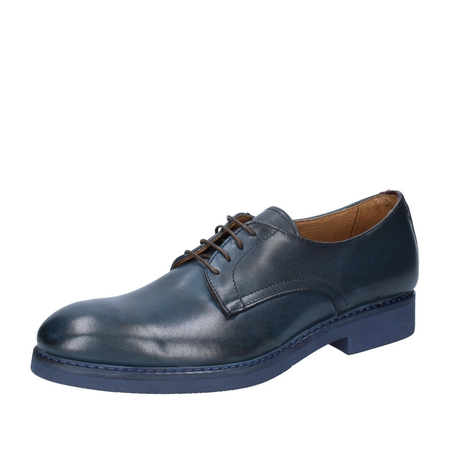 Mens shoes CHELSEA CREW 12 () elegant bluee leather BS680-46