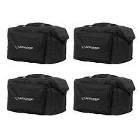(4) American Dj Slim Par & Pocket Spot/roll/scan Light Effect Cases | F4 Par Bag on sale