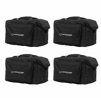 (4) American Dj Slim Par & Pocket Spot/roll/scan Light Effect Cases | F4 Par Bag on sale