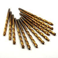 Hertel Cobalt Jobber Drills 1/8 Tin 135d 1-5/8 X 2-3/4 Qty 12 -7601e254