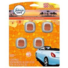 FEBREZE Car Vent Clips 2 ml Air Freshener Hawaiian Aloha - 4 Count