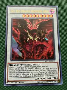 Hot red dragon archfiend JUST PULLED!!! NM DUEL POWER YUGIOH CARD DUPO-EN057