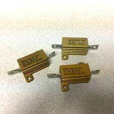 2 Dale RH-10 Wirewound Power Resistors 80 Ohms 10 Watts NEW!! Free Shippingg
