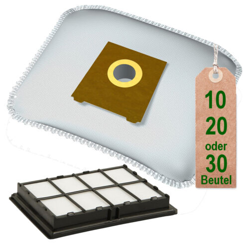 Hepa Filter passend für Siemens VS63A17 //04-10 Super C power Staubsaugerbeutel