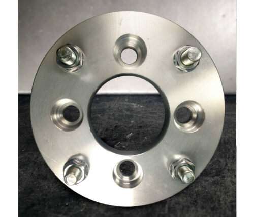"""4x115 to 4x108 4x4.25 US Wheel Adapters 1/"""" Thick 12x1.5 Studs 74mm bore x 4"""