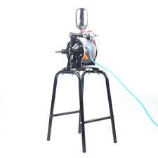 New Listingpneumatic Double Diaphragm Pump 2 Outlet Waste Oil Water 13lmin Aluminum Alloy
