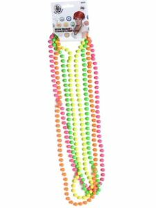 80-039-s-UV-Beaded-Necklaces-Neon-Rave-Festival-Party-Fancy-Dress-Accessory