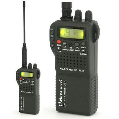Effizient Cb Midland Alan 42 Multi 4w Handfunkgerät Cb Radio Kaufe Eins Handys & Kommunikation Bekomme Eins Gratis