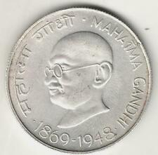 Mahatma Gandhi Centenary 1969 ★ 10 Rupee Silver Coin ★ Rare Collectible ★