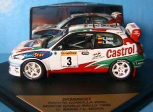 TOYOTA-COROLLA-WRC-3-MONTE-CARLO-1999-SAINZ-MOYA-SKID-SKM99027-1-43-VITESSE