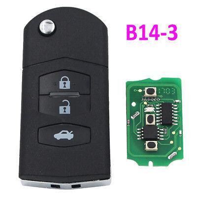 B14-3 KD900 URG200 Remote Control 3 Button Key for Mazda Style