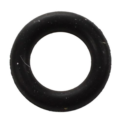 50 Pcs 5mm x 1mm x 3mm Mecanique Noir NBR joints toriques Rondelles de join Q7I4