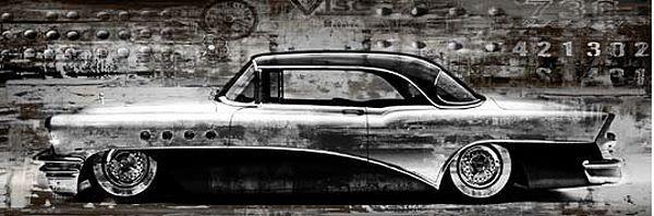 Dylan Matthews  Classic Ride Completo - 33x100 Immagine Muro Immagine Oldtimer Auto di culto