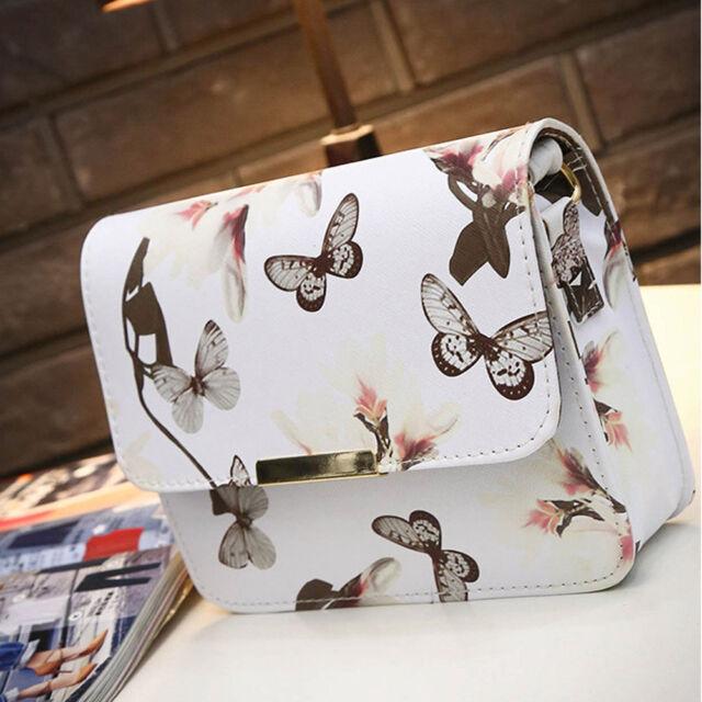 Fashion Women Faux Leather Messenger Satchel Crossbody Shoulder Bag Handbag
