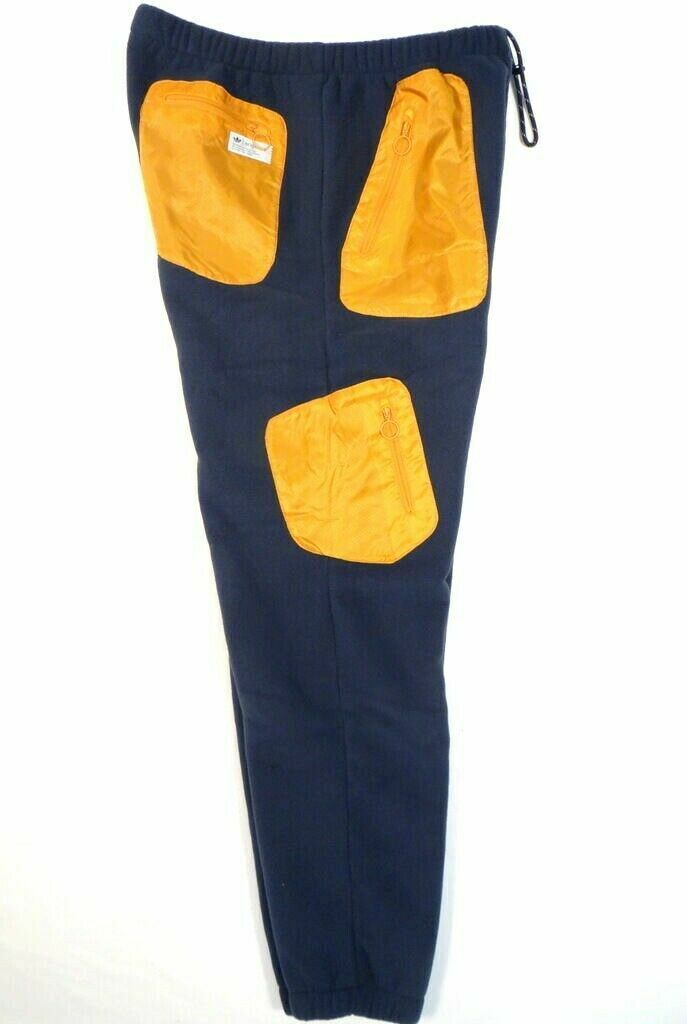 Adidas polar  fleece Pants señores pantalones de deporte Al aire librehose NWT azul hombre nuevo  orden en línea