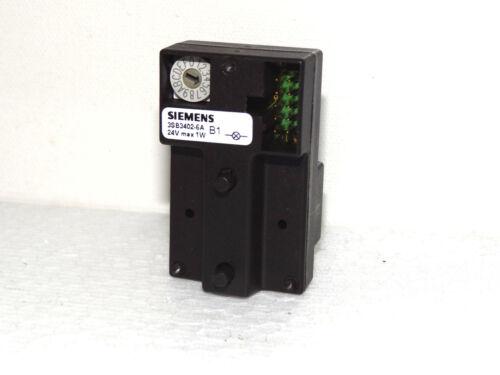 Siemens Profibus DP 3SB3402-6A Einzelanbingung Single Modul Top