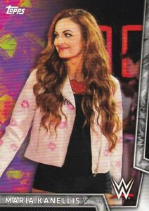 2018-Topps-Wwe-de-Mujer-Division-Cartas-Coleccionables-17-Maria-Kanellis