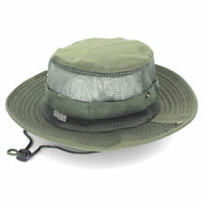 46b48256c Lenikis Outdoor Bucket Boonie UV Protecting Sun Hat Mesh Grey for ...