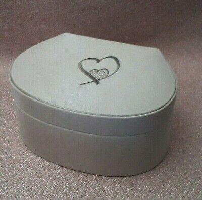 Swarovski Heart Logo Mirror, Swarovski Jewellery Box With Mirror