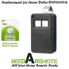 DT-2A 2PACK Linear Delta 3 Garage Door 2-button Remote 310m DNT00017A DT DTD DR3