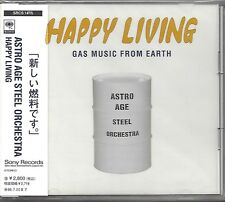 ASTRO AGE STEEL ORCHESTRA / HAPPY LIVING - JAPAN CD * OBI *