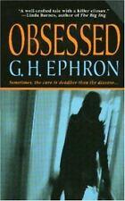 Obsessed (Peter Zaks Mysteries) Ephron, G. H. Mass Market Paperback