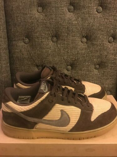 Nike Dunk Low Corduroy Pre-owned Size 12