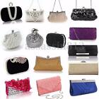 Fashion Women Lady Party Prom Bridal Evening Clutch Purse Handbag Shoulder Bag