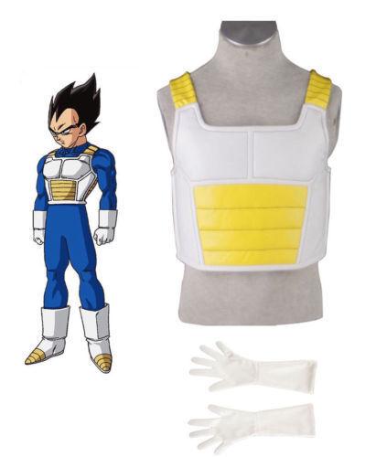 Armor Glove Dragon Ball Vegeta Cosplay Costume Super Saiyan Fighting Vest Armour