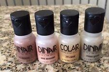 Dinair Airbrush Makeup - 4 Piece Travel Set 0.25 Oz Each