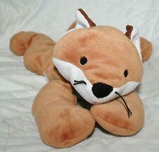 "17"" 1997 TY PILLOW PAL FOXY FOX BROWN STUFFED ANIMAL PLUSH TOY BABY SOFT"