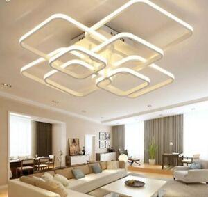 Dettagli su LUSSO italiano moderno LED Luce Pendente Lampadario Camera  Illuminazione Soggiorno- mostra il titolo originale