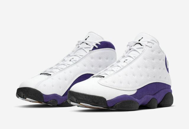 Nike Air Jordan 13 XIII Retro Lakers