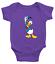 Infant-Baby-Rib-Bodysuit-Clothes-shower-Gift-Donald-Duck-Classic-Walt-Disney thumbnail 9