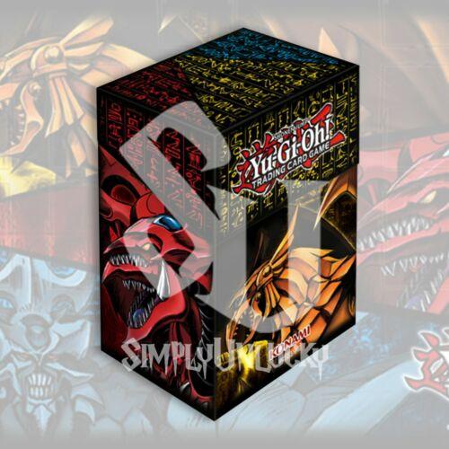 Details about  /GOD CARD SLIFER OBELISK /& RA DECK BOX CARD CASEYuGiOh Presale 6//23//21