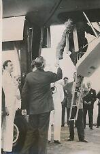 ANGLETERRE 1955 - Anthony Eden Pilotage Bombardier Atomique Farnborough - PR 440
