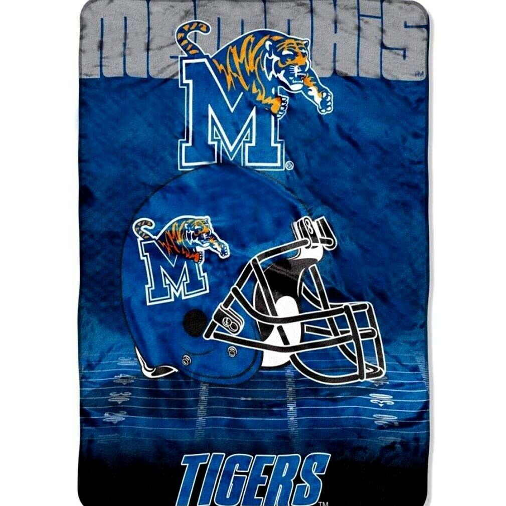 Memphis Tigers blanket bedding 60x80 FREE SHIPPING Memphis throw lighterweight