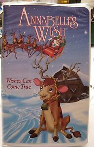 image is loading hallmark christmas annabelle 039 s wish rare vhs - Annabelle Christmas