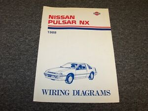 1988 nissan pulsar hatchback electrical wiring diagram guide image is loading 1988 nissan pulsar hatchback electrical wiring diagram guide cheapraybanclubmaster Image collections