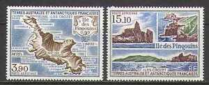 FSAT-uso-1988-Penguin-Island-mappa-viste-Set-2v-n22770