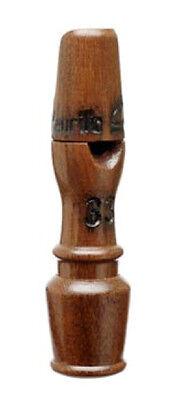 SOLID BRAZILIAN JATOBA WOOD SAMBA/BIRD CALL NEW WHISTLE #33  VIBRATORY PALETTE