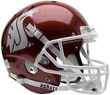 WASHINGTON STATE COUGARS Schutt AiR XP Full-Size REPLICA Football Helmet CRIMSON