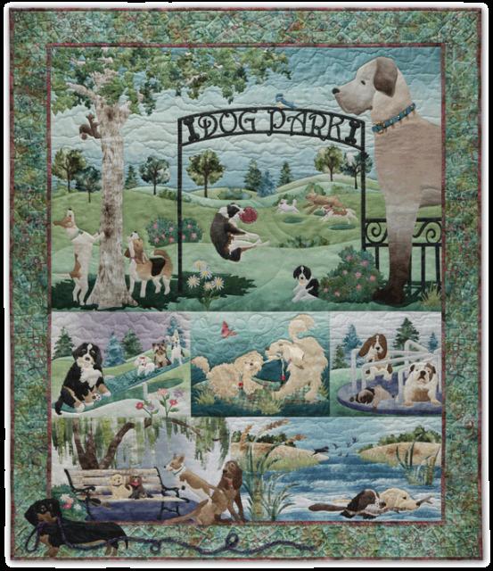 McKenna Ryan Dog Park  Entire set of all 7 Patterns & 2 Embellishment Kits