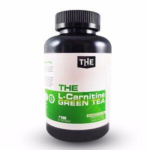 L Carnitin Gruner Tee 200 Kapseln Green Tea Diat Fatburner Ebay