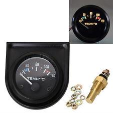 "New 2"" 52mm Car Auto Digital LED Water Temp Temperature Gauge Kit 40-120℃"